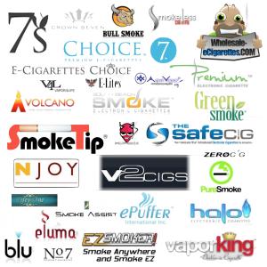 e-cigarette brands